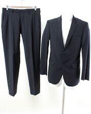 PIERRE CARDIN Anzug Gr. Sakko 94 / S Hose 48 / S 100% Wolle Business Suit