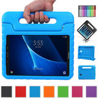 Kids Safe EVA Shockproof Handle Case Cover Stand For Samsung Galaxy Tab E A