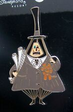 DISNEY THE NIGHTMARE BEFORE CHRISTMAS MAYOR HIZZONER SPINNER 2 FACE TRADING PIN