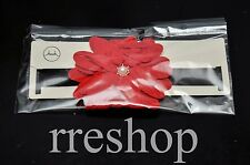 RED FLOWER ADULT HEAD BAND