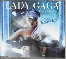 LADY GAGA - Lovegame (THE REMIXES) CDM 7TR House Synth-Pop 2009 RARE!!