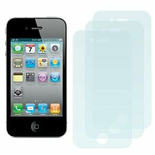 3 Nueva Pantalla Protectora Protection Film De Aluminio Para Apple Iphone 4s 4 S