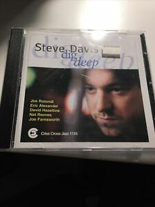 Steve Davis Dig Deep Criss Cross Jazz Cd Eric Alexander