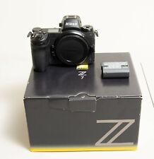 Nikon Z7 45.7MP Digital Camera - Black (Body Only) extra battery and 120gb xqd