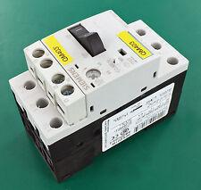 Siemens 3rv1011-1ga15 DIN Mount PLC Circuit Breaker 575v 3-pole 6.3a amp Sirius