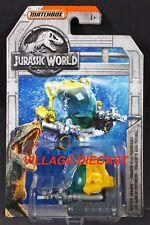 2018 Matchbox Jurassic World™ #10 Deep-Dive Submarine YELLOW / MOC