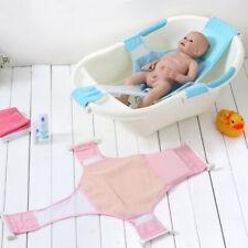 Baby Safety Infant Shower Bath Seat Belt Tub Bathtub Net Mesh Non Slip Kids