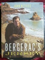 "SIGNED John Nettles ""Bergerac's Jersey"" 1988 1st Edition HB Book BBC Books"