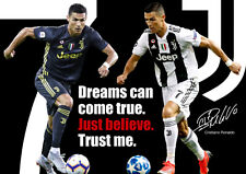 Ronaldo Juventus Poster #3006 - Motivational quote - A3 420mm x 297mm