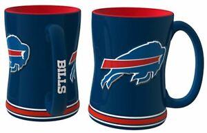 Buffalo Bills 14oz Sculpted Relief Coffee Mug NFL