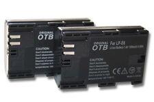 2x Batterie + CHIP pour CANON EOS 70D EOS7D 7-D