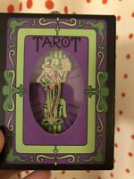 NIB 2020 Disney Parks Christmas Holiday Gifting Pin Dr. Facilier Tarot Cards LR