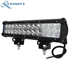 12Inch Combo Led Light Pods ATV 4WD Bumper Driving Fog Slim Lamp Rectangle