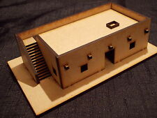 15MM SCALE DESERT OUTPOST EASY BUILD KIT WOULD SUIT FLAMES OF WAR