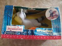 Disney Pocahontas Watchums Stuffed Animal Watch Meeko Raccoon Digital Soft Plush