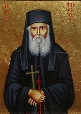 Hl. Paisios v. Berg Athos St.Ikone Icon Ikona Icone Icono Saint Monk икона