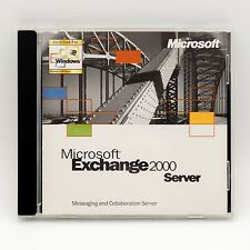 Microsoft Exchange 2000 Server full version w/ product CD key Windows PC CD-ROM