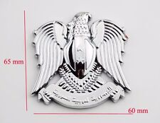 3D Metal Chrome Eagle Badge Car Trunk Emblem Decal Sticker Auto Motorcycle Tank