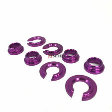 240SX S13 S14/300ZX Purple ALUMINUM SUBFRAME TIE BAR BUSHING COLLAR SPACER Kit