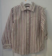 New Gymboree Turbo Charged Stripe Long Sleeve Shirt Boy's Size 6