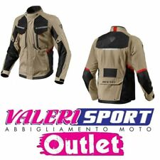 REV'IT GIACCA JACKET SAFARI 2 SAND BLACK TOURING SPORT GS ADVENTURE AFRICA TWIN