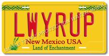 Breaking Bad Better Call Saul Goodman LWYRUP Prop Replica Aluminum License Plate