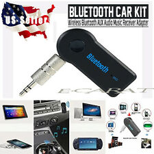 Portable 3.5mm Streaming Car A2DP Wireless Bluetooth AUX Audio Receiver Adapter