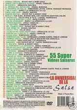 DVD salsa ANGEL CANALES sabor los rumberos nuevos TINTINDEO andy harlow LEBRON
