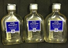 LOT OF 3 Back To Basics BtB For Men Daily Shampoo Shave Grass & Cypress 8.5oz