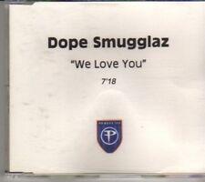 (CM239) Dope Smugglaz, We Love You - DJ CD