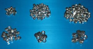 UNF Lock Nuts 180 Pack. Triumph TR2 TR3 TR3A TR4 TR4A TR5 TR250 TR6 Bond Equip