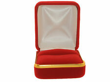 JEWELRY GIFT BOX BEAUTIFUL  VELVET for Ring,Earring,Charm ON SALE! 2 FOR $9.99