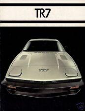 Triumph TR7 Fixed Head Coupe 1977 USA Market Sales Brochure