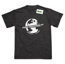 Stark Industries Globe Inspired by Iron Man Tony Stark Printed T-Shirt