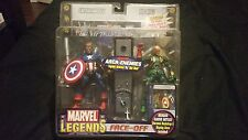 MARVEL LEGENDS FACE-OFF CAPTAIN AMERICA VS. RED SKULL VARIANT ARCH-ENEMIES