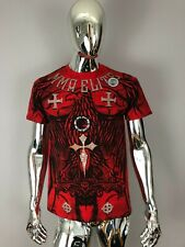 New MMA Elite Red Graphic T Shirt Size M