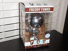 FREDDY FUNKO CHROME VINYL FIGURE - LIMITED EDITION 2000 PCS.