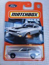 Matchbox 1970 Ford Capri Grey 18/100 New 2021 Model!