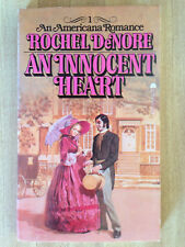 Rochel DeNore AN INNOCENT HEART 1st 1977 Great Cover Gothic L@@K WOW!!!