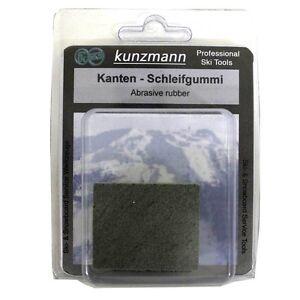 Kunzmann Abrasive Rubber or Gummi Stone For Ski & Snowboard