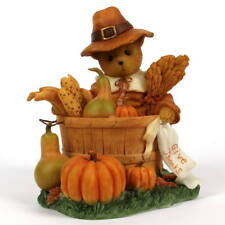 Cherished Teddies HERBERT - 2011 USA Thanksgiving Exclusive - Enesco 4023731