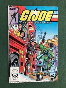 GI Joe #17 Marvel Comics Bronze Age Real American Hero Hasbro action figure vg/f