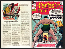 Facsimile reprint covers only to FANTASTIC FOUR #14