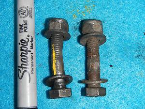 DRIVER FOOT PEG MOUNT BOLTS 1975 75 1976 76 KTM 250 MX6 PENTON MX-6 mc-5