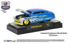 M2 Machines Ground Pounder Release 17 1949 Mercury Coupe Candy Blue Silver CHASE
