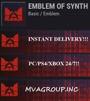 Destiny 2 Emblem: EMBLEM OF SYNTH  - INSTANT DELIVERY 24/7! (PC/PS4/XBOX)