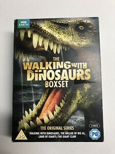 THE WALKING WITH DINOSAURS BOXSET Complete Collection DVD Region 2-4