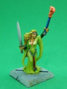 Bretonnian Sorceress - Warhammer Fantasy - TSR AD&D - Painted Metal