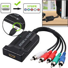 HDMI to YPbPr Video Converter Component YPbPr 5RCA RGB  Adapter R/L Audio Output