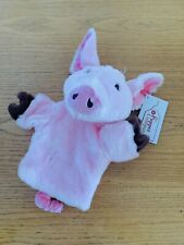 The Puppet Company Pig Glove Hand Puppet With Tail